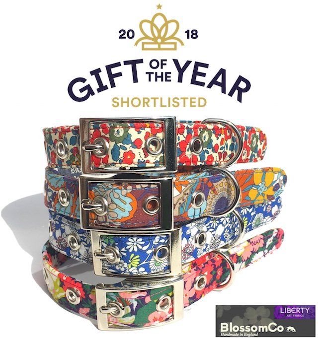 BlossomCo's Liberty Art Fabrics Collection has been shortlisted for Gift of the Year 2018