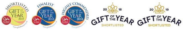 BlossomCo Gift of the Year Awards 2015 to 2019