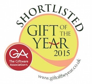 Giftware Association Gift Of The Year 2015 logo