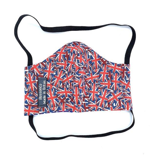 Union Jack Design Reusable Face Covering