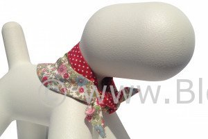 Alice by BlossomCo is a beautiful floral dog bandana