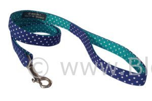 The Bertie is a two tone blue polka dot design by BlossomCo
