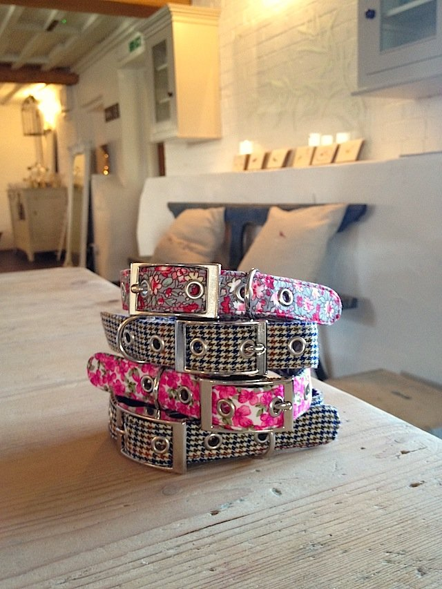 BlossomCo Spring Floral Design Dog Collars