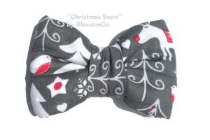 Christmas Theme Bowtie for Dogs