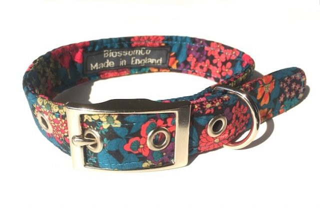 Ciara Liberty Print dog collar