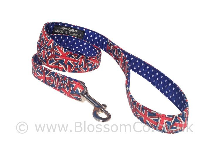 Jack – Great British Union Jack Dog Lead by BlossomCo