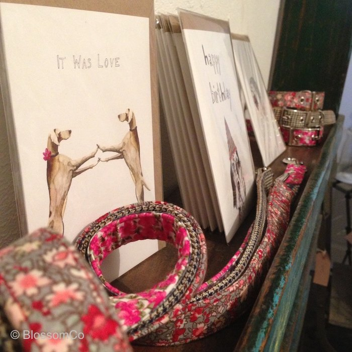 handmade dog collars and leads gift shops