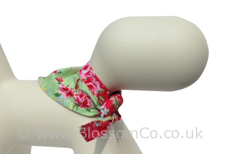 Dog Bandana Accessories - BlossomCo Henley Design