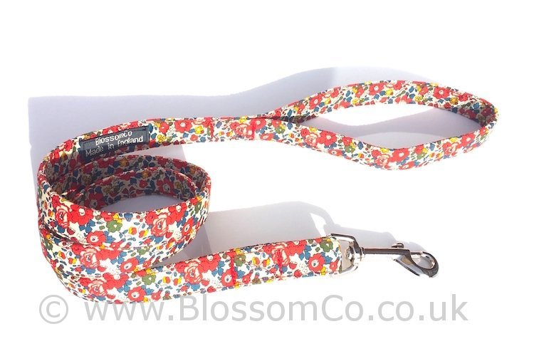 Liberty Fabric - Betsy Dog Lead