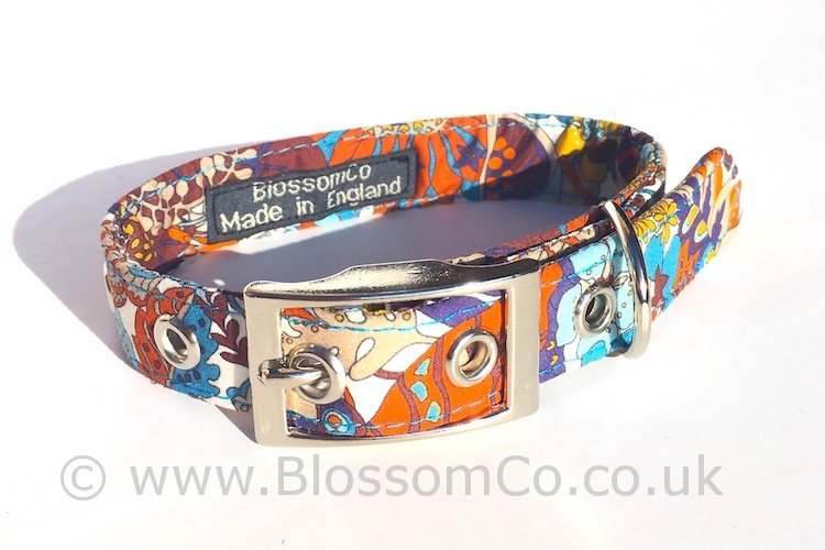 Liberty Fabric - Elodie Bea Dog Collar