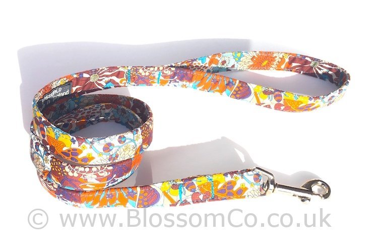 Liberty Fabric - Elodie Bea Dog Lead