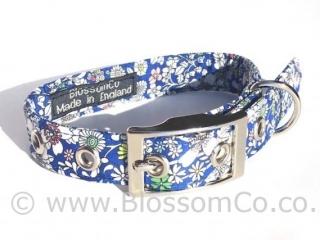 Liberty Fabric - Junes Meadow Dog Collar