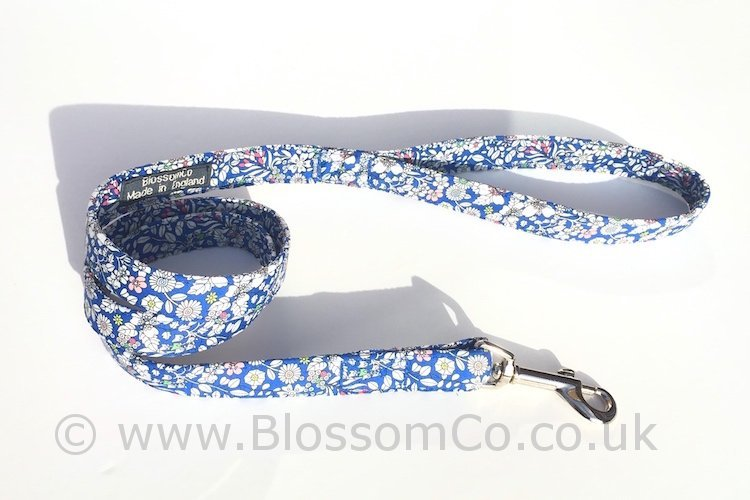 Liberty Fabric - Junes Meadow Dog Lead