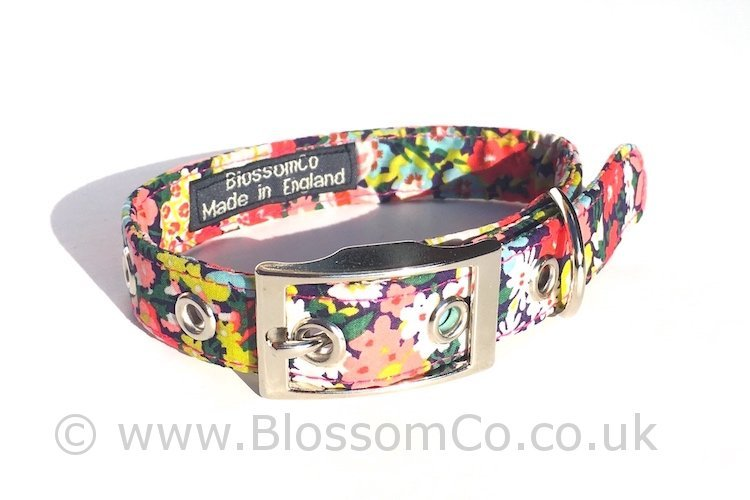 Liberty Fabric - Thorpe Dog Collar