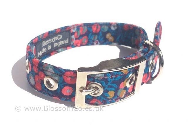 Liberty Wiltshire Print Dog Collar