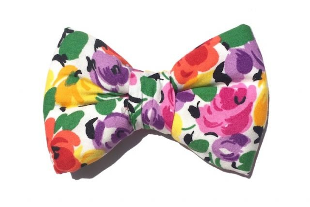 Wholesale Floral Dog Bowties