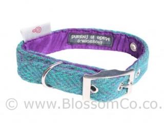 Scalpay Harris Tweed Dog Collar by BlossomCo