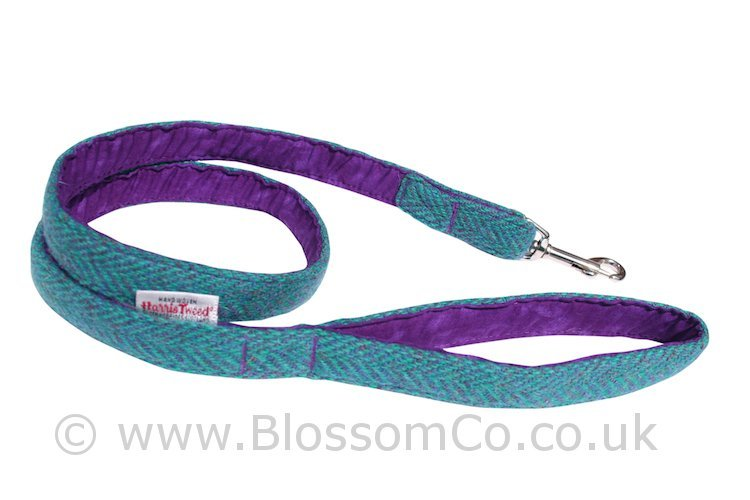 Scalpay Harris Tweed Dog Lead by BlossomCo