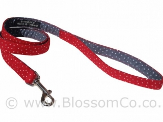 Stanley is a stunning red dog lead design and makes a great gift for dogs