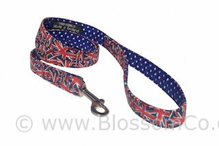Union Jack Dog Lead by BlossomCo