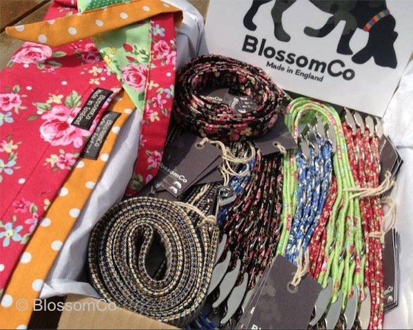 Wholesale order of BlossomCo dog collars and leads
