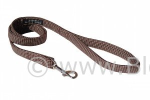 Wilbur is a very stylish and trendy check pattern dog lead