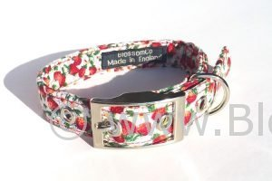 Wimbledon - Strawberries Dog Collar